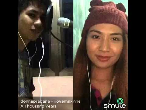 Donna Pradana - A Thousand Years (smule cover)