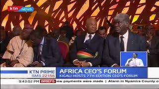 Top CEOs in Kigali Rwanda to discuss business in Africa