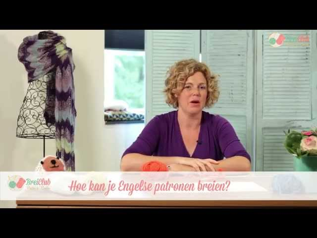 Engelse patronen breien, hoe doe je dat? - Breiwoordenboek Breiclub.nl