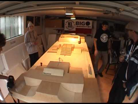 Big construction park opening and session by KL-wood