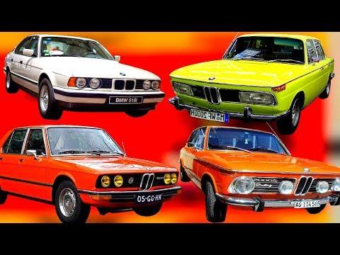История BMW.Пока наши клепали ВАЗ-баварцы делали вещи