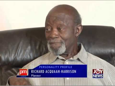 Richard Acquah Harrison - Personality Profile Friday on Joy News (11-12-15)