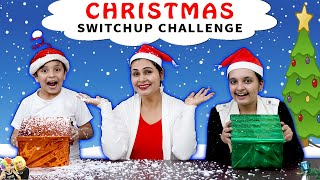 CHRISTMAS SWITCHUP CHALLENGE  Surpise box of gift  Aayu and Pihu Show