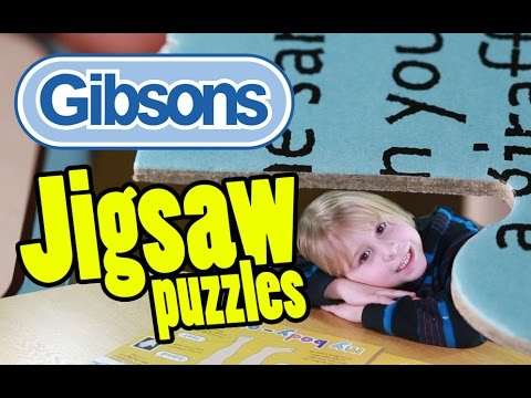 Gibsons Jigsaw Puzzles at Toy Fair 2015: 'My World' Jigsaw Puzzle 'My Body' | Beau's Toy Farm