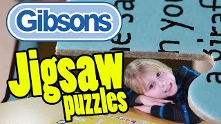 Gibsons Jigsaw Puzzles at Toy Fair 2015: