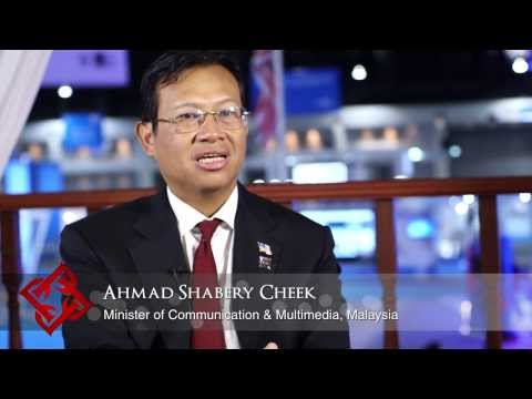 Malaysian Minister of Communication & Multimedia Ahmad Shabery Cheek on Malaysia's ICT sector