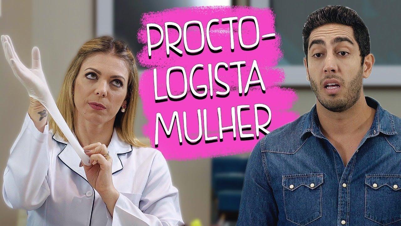 Proctologista Mulher - DESCONFINADOS (Participação Sheila Mello) Erros no Final