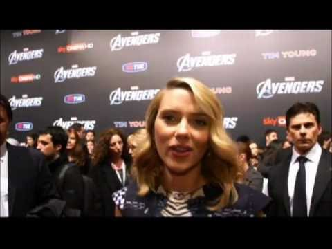 Scarlett Johansson: The Avengers Italian Premiere (Los Vengadores)