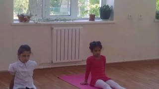 Начальные уроки гимнастики - First gymnastic lessons