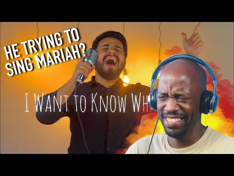 Gabriel Henrique - I Want to Know What Love Is (Mariah Carey Cover) Reaction