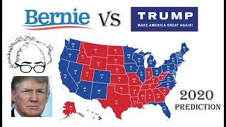 2020 Election Prediction | Hillary Clinton vs Donald Trump