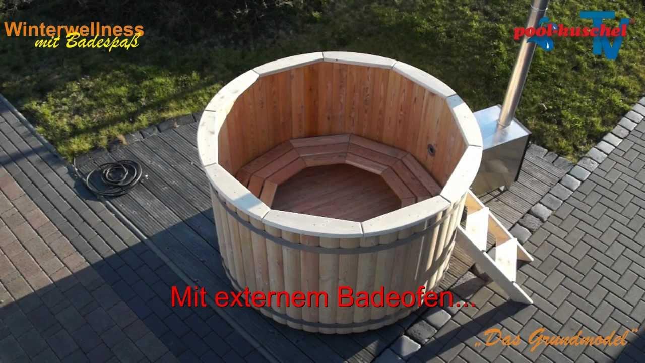 Badezuber Badefass Badetonne Hotub