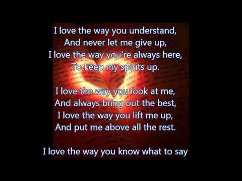 What I Love About You Love Poems Youtube