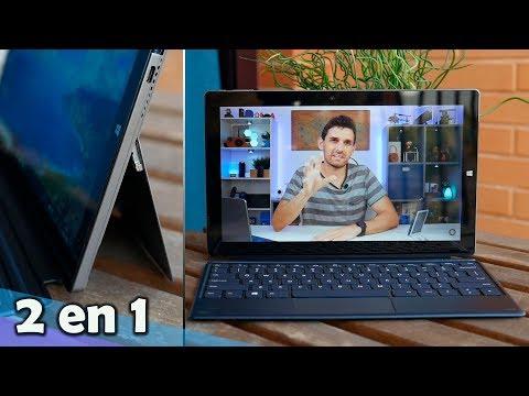 Esta tablet convertible se sostiene por sí sola, Teclast X4 | En español
