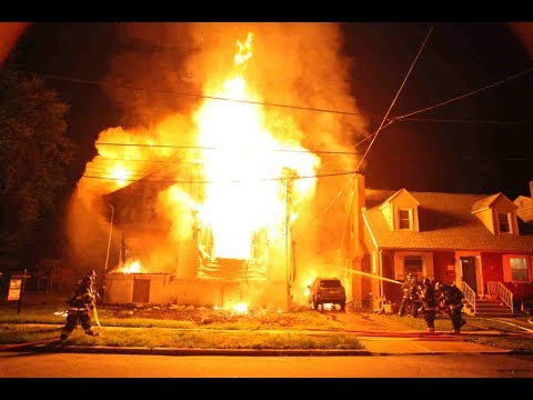 Vacant Dwelling Fully Involved 2nd Alarm 7 4 2017