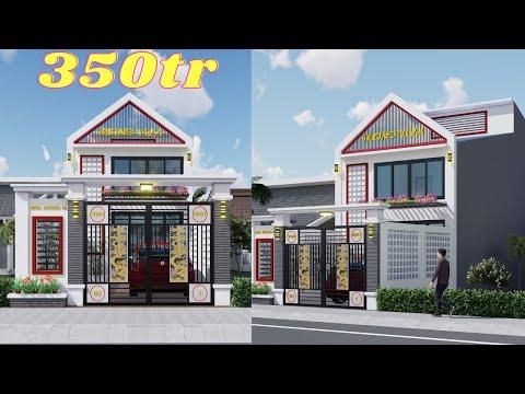 Mẫu nhà phố đẹp 5x17m 1 tầng 1 gác lửng hiện đại và siêu rẻ tại Ninh Bình   Nhà đẹp Bách Hợp