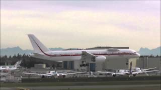 KPAE Paine Field Spotting ✈ Honeywell Boeing 757-200 Engine Testbed