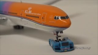 orange pride klm boeing 777 300er ph bva geminijets 1 400 unboxing