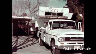 1968 International Harvester Campmobile Pickup Truck