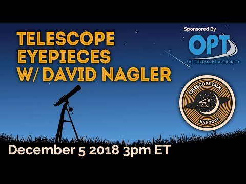 Download Telescope Eyepieces with David Nagler
