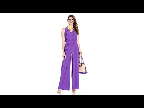 IMAN Global Chic Convertible Jumpsuit