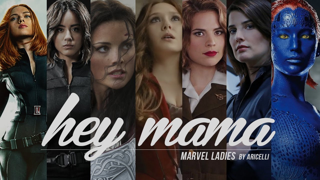 Hey Mama  Marvel Ladies - Youtube-4196