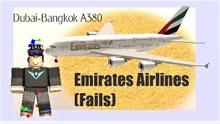 Roblox | Emirates Fluggesellschaft A380 (Got EXPLOITED)!!