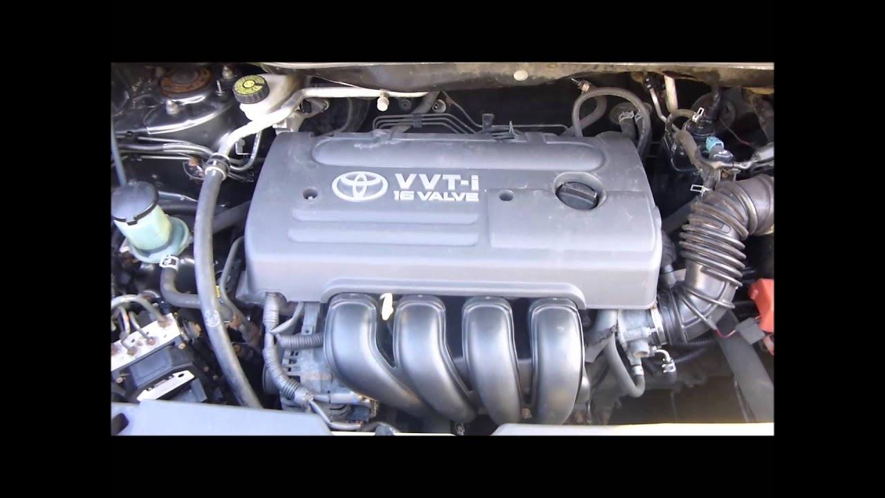 2007 TOYOTA VERSO 18 VVTI ENGINE  YouTube