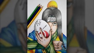 Drawing Haku (Naruto)