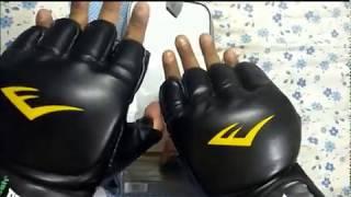 Everlast MMA grappling gloves review in hindi urdu
