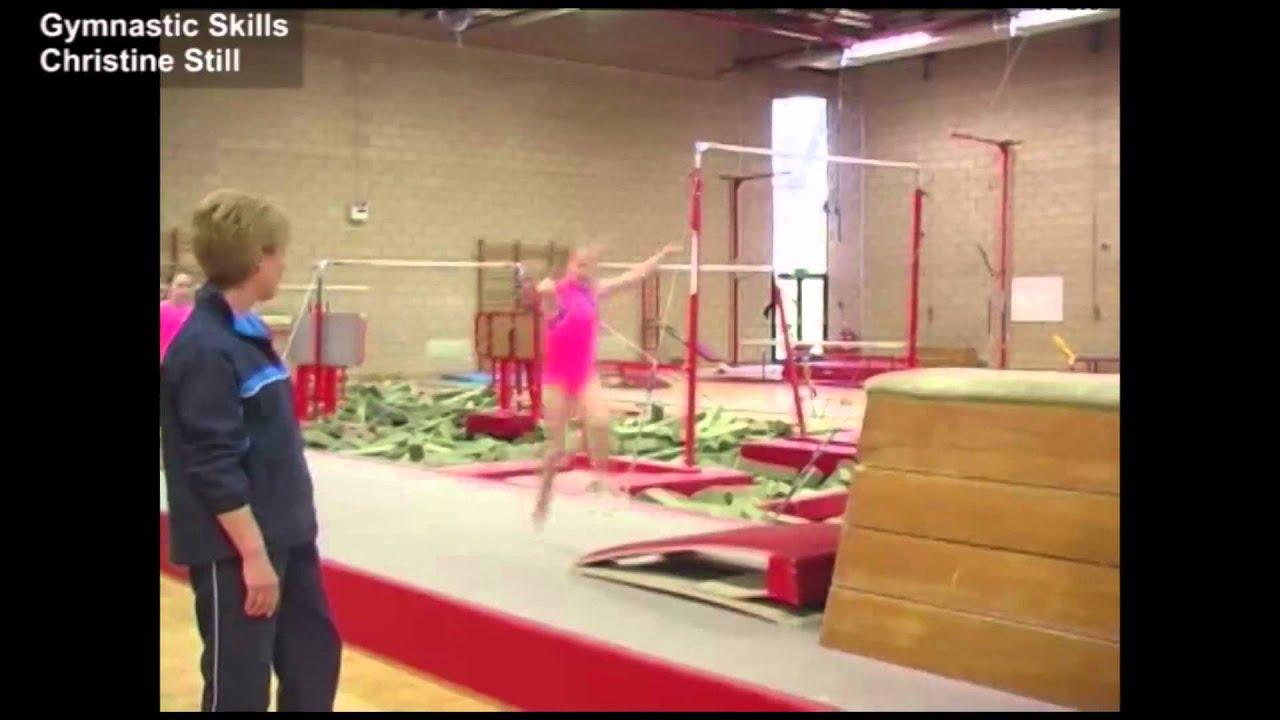 Image forward roll jpg gymnastics wiki - Gymnastic Skills Christine Still