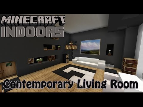 Full download minecraft living room designs ideas for Minecraft interior design living room