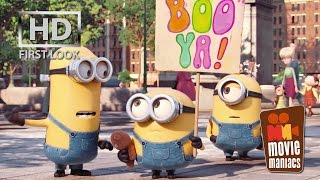 Minions | FIRST LOOK clip (2015) Stuart Kevin Bob Despicable Me