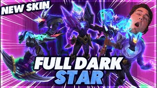 ULTIMATE ONLY KILL | THESE SKINS ARE INSANE | NEW DARK STAR SKIN - BunnyFuFuu