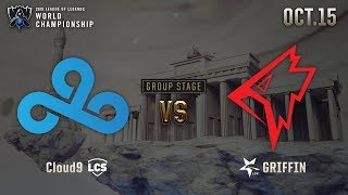 C9 vs GRF | GROUP STAGE Day 4 H/L 10.15 | 2019 Worlds Championship