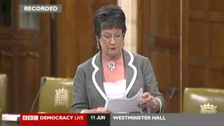 Conservative MP Pauline Latham led a debate on the Ukrainian Holodomor on 11 June 2013.