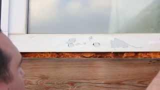 Как снять старую защитную пленку с ПВХ окон(Бывают случаи, когда мы ставим пластиковое окно и наотрез отказываемся снимать монтажную пленку. Ссылаясь..., 2014-07-15T05:23:07.000Z)
