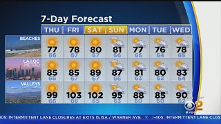 Danielle Gersh's Weather Forecast (Sept. 12)