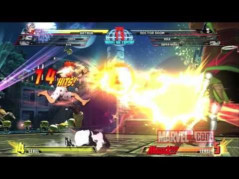 Marvel vs. Capcom 3: Arthur Spotlight