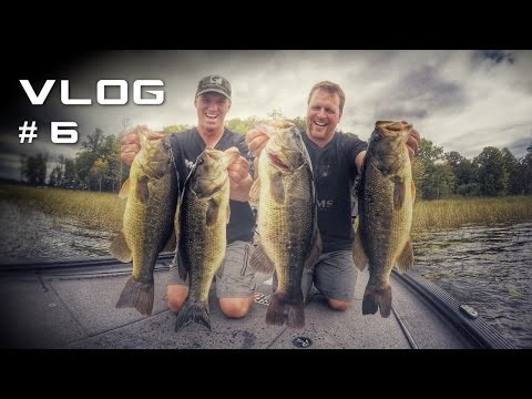 Pattern Fall Bass in Northern Natural Lakes
