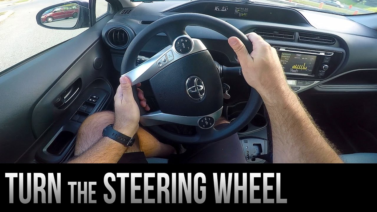 how to turn the steering wheel youtube
