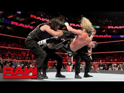 "Braun Strowman's ""pack"" implodes during battle with The Shield: Raw, Oct. 15, 2018"
