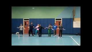 Fusion Bollywood Dance of Indian Songs by Fall 2011 Class (Beginners)