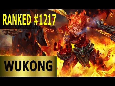 Wukong Jungle - Full League of Legends Gameplay [German] Lets Play LoL - Ranked #1217 thumbnail