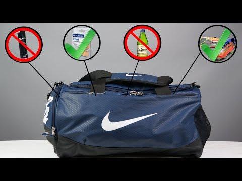 Что должно быть в сумке у футболиста?  \ ГЛАВНЫЕ ОШИБКИ + Футбольные советы