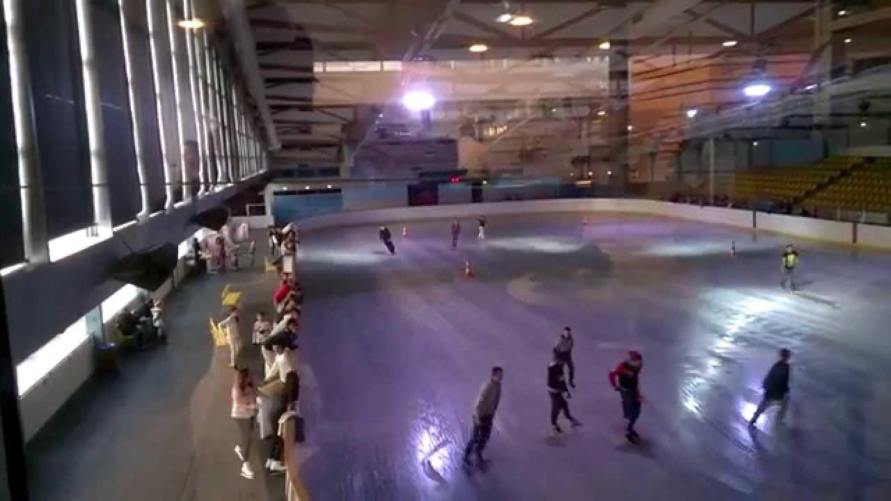 2014 12 07 minute de vitesse patinoire de castres youtube for Archipel piscine castres