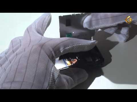 Ремонт Nokia 6233 - замена подложки клавиатуры в телефоне