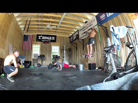 Project Mayhem - Rich Froning does Barbara