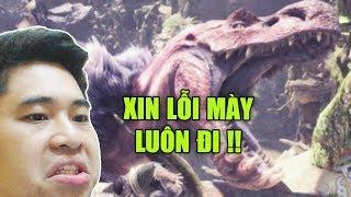Monster Hunter World #3 | Dăm Ba Con T-Rex Tuổi L** Với Hội Anh Em
