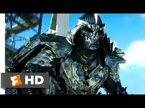 Teenage Mutant Ninja Turtles (2014) - Shredder's Downfall Scene (10/10) | Movieclips